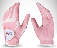 Load image into Gallery viewer, New PGM golf gloves Microfiber cloth slip female models hands gloves wholesale manufacturers