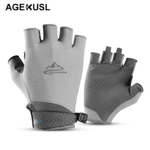 Load image into Gallery viewer, TWTOPSE Men Golf Gloves Coolmax With Leather Left Right Hand Women Soft Breathable Thin Anti-UV Golf Gloves Outdoor Sports Glove