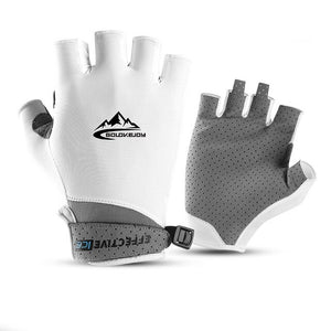 TWTOPSE Men Golf Gloves Coolmax With Leather Left Right Hand Women Soft Breathable Thin Anti-UV Golf Gloves Outdoor Sports Glove