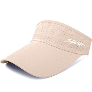 Summer Outdoor Golf Cap Breathable Quick-drying Adjustable Sports Visor Hats
