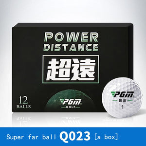 High-Grade New Golf Balls 12 Pieces/Boxed Layer Practice Game Ball Double Layer Super far ball Outdoor Sport Wholesale Training