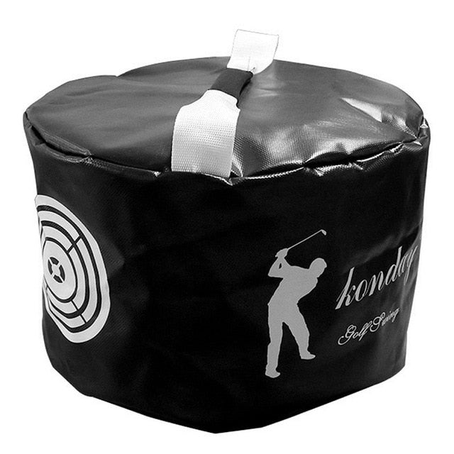 Golf Power Impact Swing Aid Bag Practice Training Smash Hit Strike Bag Trainer Exercise Package Multi-function Aids