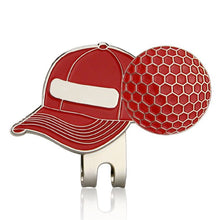 Load image into Gallery viewer, Golf Ball Mark with Golf Hat Clip Magnetic Outdoor Alloy golf marker supplies accessories Drop Shipping