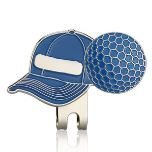 Golf Ball Mark with Golf Hat Clip Magnetic Outdoor Alloy golf marker supplies accessories Drop Shipping