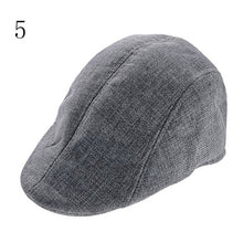 Load image into Gallery viewer, 1PCS New arrival Mens Vintage Herringbone Flat Cap Peaked Riding Hat Beret Country Golf Hats