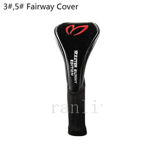 PU Leather Golf Club Head Cover (1# Driver/wood Cover 3#,5# Fairway Cover)