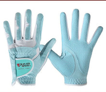 Load image into Gallery viewer, 2019 New PGM Golf Gloves Microfiber Cloth Slip Female Models Hands Gloves Wholesale Manufacturers