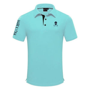Swirling MARK&LONA  new Golf Clothing Men's Summer Golf T-Shirt Golf Breathable Quick-Drying Sports T-Shirt Free Shipping