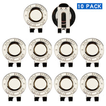 Load image into Gallery viewer, 10 pcs Golf Hat Clip Magnetic Metal Golf Cap Clips Golf Accessories Drop Ship
