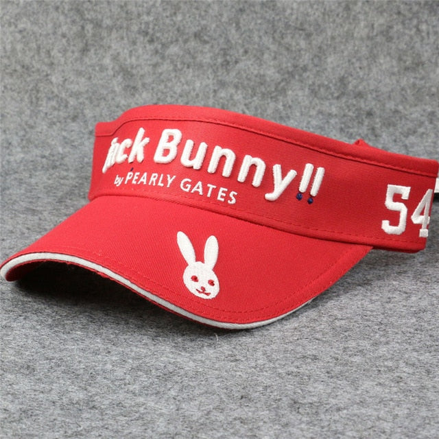 New Jack Bunny 54 Golf Hat No Top Caps Outdoor Sports Empty Top Golf Hats Cap Adjustable Size Pearly Gates For Man Women