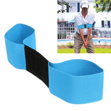 Load image into Gallery viewer, Golf Swing Trainer eginner Practicing Guide Gesture Alignment Training Aid Aids Correct Swing Trainer Elastic Arm Band Belt