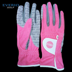 Authentic Quality Women Golf Gloves Non-slip Waterproof Golf Super Fiber Cloth Magic Gloves Outdoor Sports Exclusive Lady Mitten