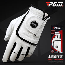 Load image into Gallery viewer, 1 Piece PGM Golf Gloves Men's Sheepskin Gloves Skid-proof and Air-permeable Golf Products