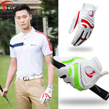 Load image into Gallery viewer, 2020 New Products Golf Gloves Men's Non-slip Breathable Sheepskin Fiber Cloth Gloves Single Left Washable Sportswear Accessories