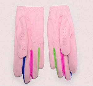 For Children Microfiber fabric Soft Breathable Golf gloves Skidproof golf gloves