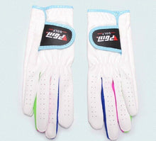 Load image into Gallery viewer, For Children Microfiber fabric Soft Breathable Magic Golf Gloves skidproof Sport glove