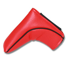 Load image into Gallery viewer, Big Teeth Golf Ping-type Blade Putter Cover Club Headcover Magnetic Closure Waterproof PU Leather Green/Red/White/Black