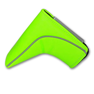 Big Teeth Golf Ping-type Blade Putter Cover Club Headcover Magnetic Closure Waterproof PU Leather Green/Red/White/Black