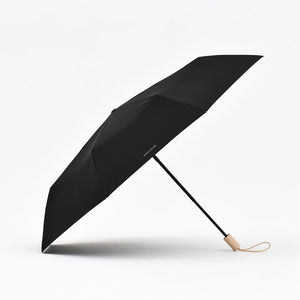 Tiohoh Automatic Umbrella Men Women Canada Maple Handle Folding Rain Umbrella Windproof 8K 210T Pongee Golf Umbrellas Paraguas