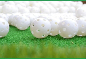 Plastic Golf Ball Sportful Practice Balls Colorful Golf Balls