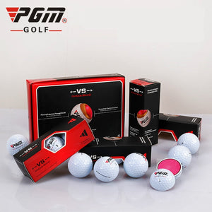 PGM Golf Off-court Game Ball Gift Box with Three-Layer Ball /  12/Box