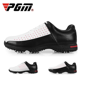 PGM Golf Shoes Men's Sports Shoes Breathable Anti Slip Waterproof Mens Golf Sneakers Light Weight Sports Shoes