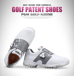 PGM Golf Ball Waterproof Golf Shoes Women Sports Activity Shoes Non-slip Spikes Nail Ladies Shoe Breathable Golf Sneakers