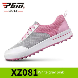 PGM Golf Shoes Women Ultra-Light Breathable Mesh Women Sports Shoes No creases Girls Golf Shoes