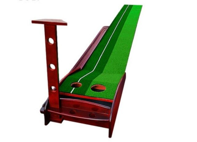 30 x 300CM Professional Golf putting Green Indoor Solid Wood Golf Putter Trainers Golf Training Aids