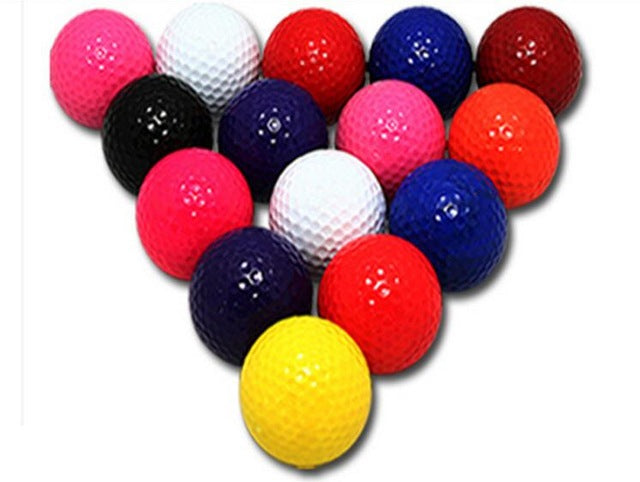 Wholesale Colorful Golf Balls Golf exercise ball