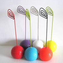 Load image into Gallery viewer, cute colorful golf ball type card holder