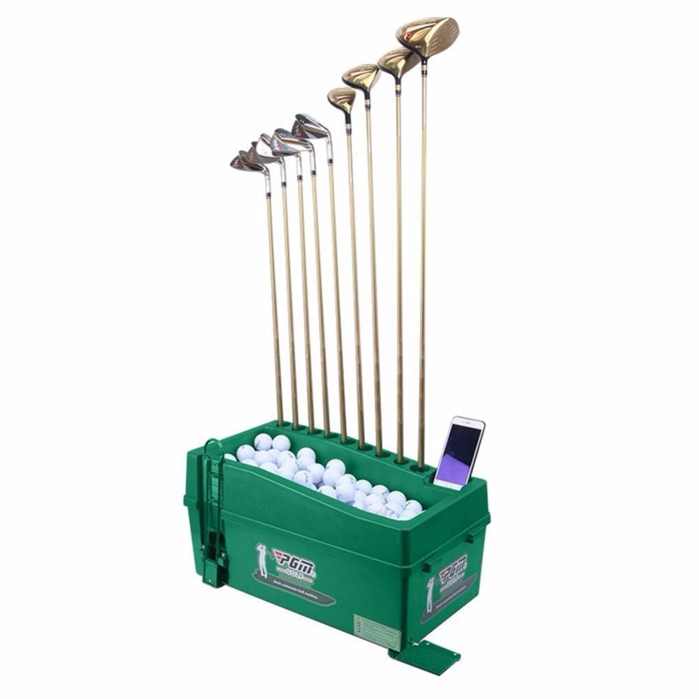 Crestgolf PGM Golf Ball Dispenser, No Power/No Electricity Required, Semi-Automatic Golf Ball Dispenser, Golf Training Aids.