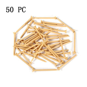 Brand Golf Nail 50/100Pc 83mm Golf Ball Wood Tee Outdoor sports wooden Tees Golf Train Aid For Beginer + Free shipping!