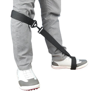 Golf Post Orthotics Correction Leg Rod Corrector Rod Remedical Belt Leg Golf Training Aids