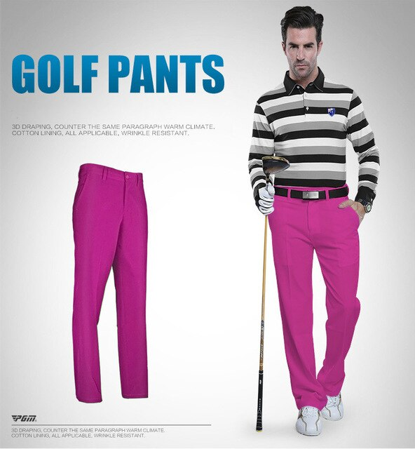Golf Pants Clothing Waterproof Golf Trousers For Men Quick Dry Golf Summer Breathable Thin Pants Plus Size XXS-XXXL Apparel 2018