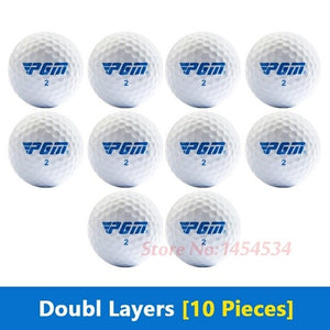 New Authentic Outdoor Sport Golf Game Training Ball 5-20PCS Beginners Practice Driving Range Double/Three Layers High Grade Ball