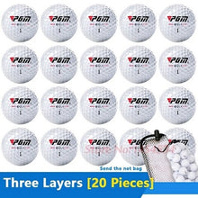 Load image into Gallery viewer, New Authentic Outdoor Sport Golf Game Training Ball 5-20PCS Beginners Practice Driving Range Double/Three Layers High Grade Ball