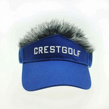 Load image into Gallery viewer, CRESTGOLF Adjustable Fake Hair Golf Cap Men Hat Wig/ Hair Golf Baseball Cap with Several Colors Available
