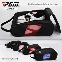 Load image into Gallery viewer, New PGM Golf Sport Shoes Big Bag Air Permeable Female High-grade Light Practical Travel Pack Shoe Pouch Waterproof Dustproof Men