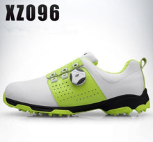 Load image into Gallery viewer, 2019 Golf Shoes Men Waterproof Breathable Golf Shoes Rotating Knobs Buckle Slip Resistant Sports Sneakers Outdoor Golf
