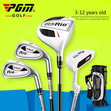 Load image into Gallery viewer, PGM Golf Club for Children Aged 3-12 Practicing Club with Bag JRTG004 RIO 2016