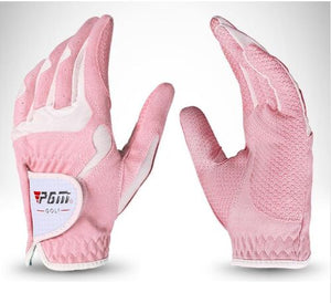 2019 New PGM Golf Gloves Microfiber Cloth Slip Female Models Hands Gloves Wholesale Manufacturers