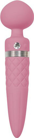 Sensual Secrets pink wand massager, providing exciting sexual stimulation as the most iconic vibrators.