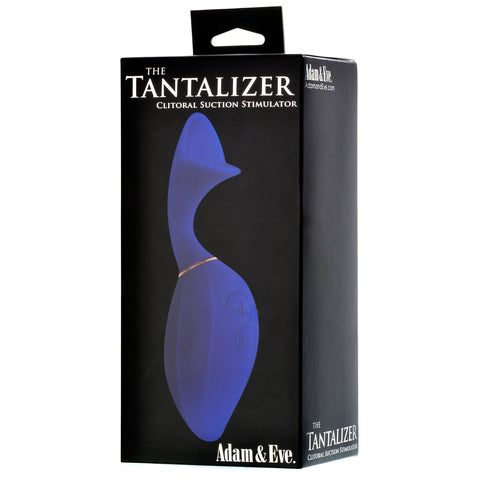 Adam & Eve Tantalizer Clit Suction Massager - Blue AE-BL-2308-2