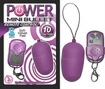 Power Mini Bullet Remote Control - Purple NW2319-2