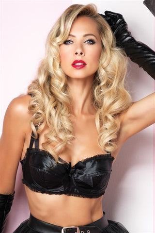 Satin Bullet Bra - Small LA-86342S