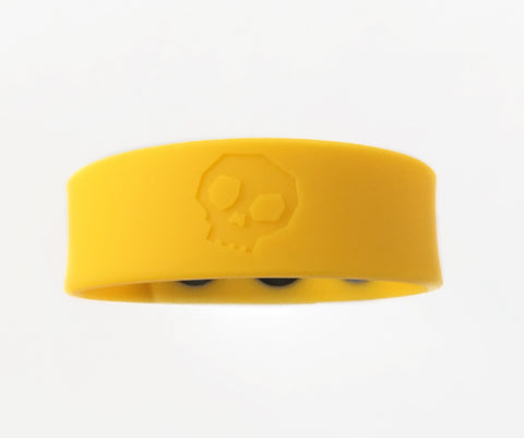 Boneyard Silicone Cock Strap 3 - Snap Ring - Yellow BY-0304