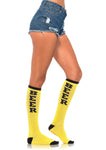 Beer Run Knee High Socks - One Size LA-5608