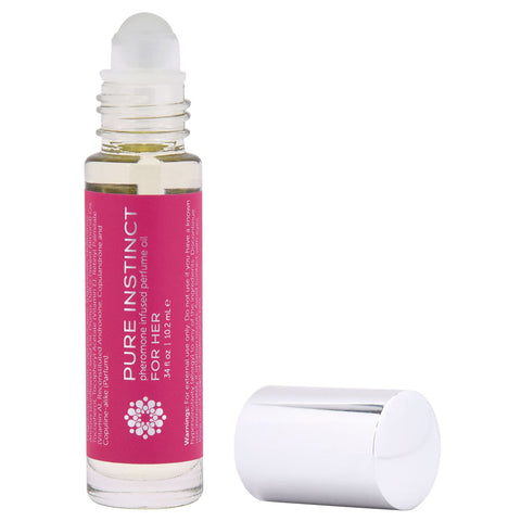 Pure Instinct Pheromone Perfume Oil for Her - Roll on 10.2 ml | 0.34 Fl. Oz JEL4002-10