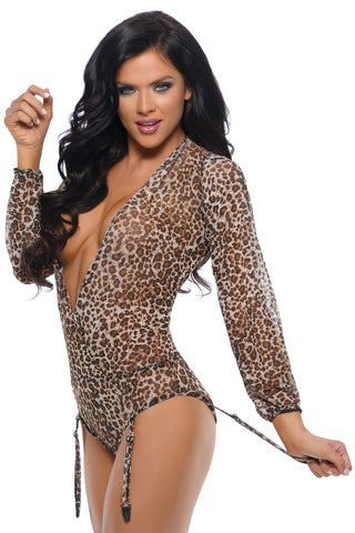 Shiva Long Sleeve Mesh Teddy - Large/ Extra Large FL-BR536-LXL